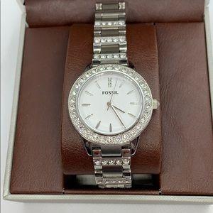 Fossil Crystal Watch